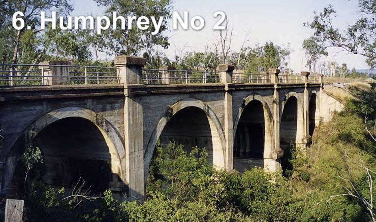 Railway bridge across Humphry Number 2