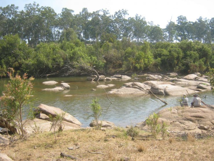 granite rocks crossing, Mount Debateable