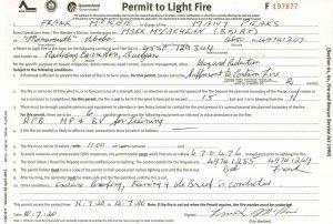 fire permit